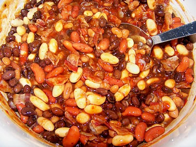 Southwest Baked Beans W Maple Chipotle Grille Sauce By