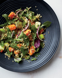 Quinoa Salad with Sweet Potatoes and Apples Recipe - Grace Parisi   Food & Wine
