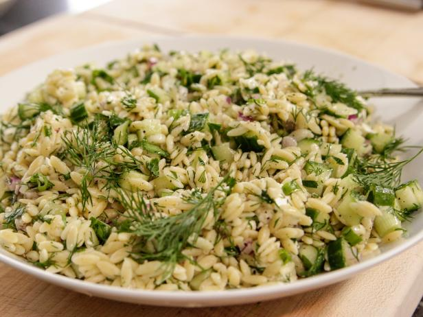 Herbed orzo with feta recipe ina garten food network Ina garten summer pasta
