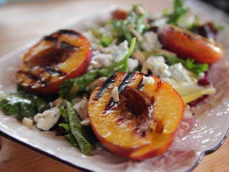 Grilled nectarine salad recipe ree drummond food network get grilled nectarine salad recipe from food network forumfinder Choice Image